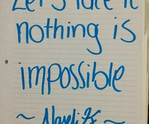 impossible, life, and quotes image