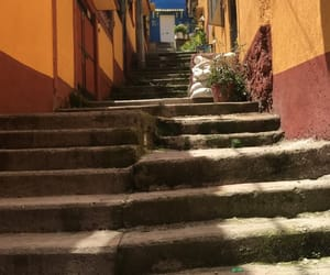 buildings, mexico, and stairs image