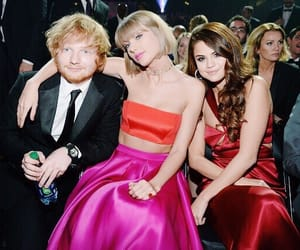celebrities, gomez, and grammys image