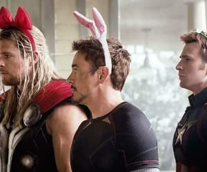 Avengers, thor, and captain america image