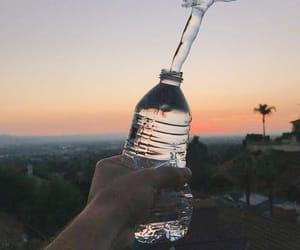 arm, bottle, and plastic image