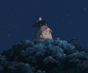 totoro, cute, and anime image
