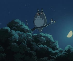 anime, studio ghibli, and My Neighbor Totoro image