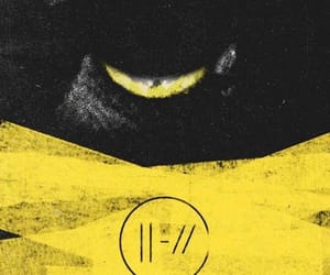 yellow, trench, and twenty one pilots image