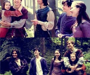 anna popplewell, ben barnes, and georgie henley image