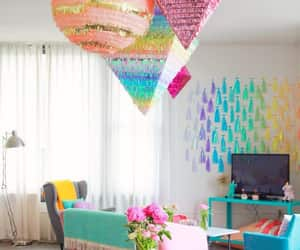 apartment, colorful, and colorido image