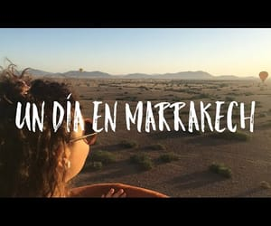 marrakech, morocco, and trip image