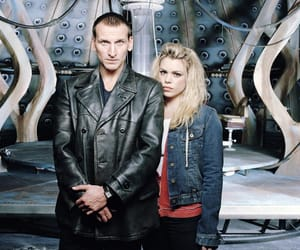 doctor who, rose, and nine doctor image