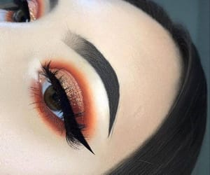 makeup, cosmetics, and eyeliner image