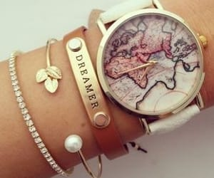 chic, style, and watch image