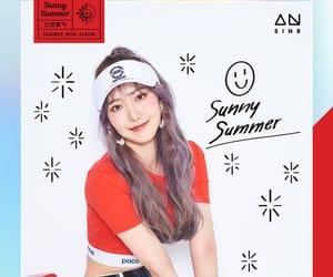 sinb, gfriend sinb, and hwang eun-bi image