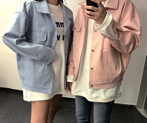 pastel, blue, and fashion image