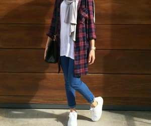 hijab, outfit, and style image
