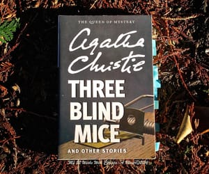 agatha christie, bookworm, and read image