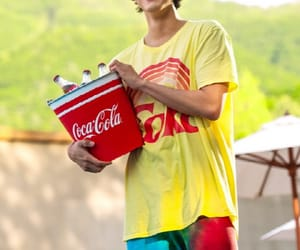 coca-cola, 박보검, and 네이버 image