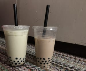 boba, bubble, and drink image