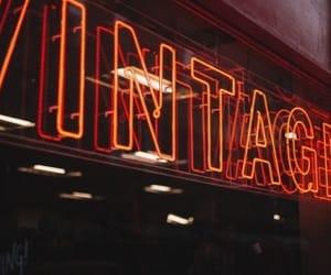 vintage, light, and orange image