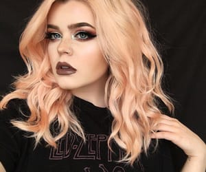 beautiful, color, and dark lips image