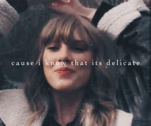 1989, delicate, and Lyrics image