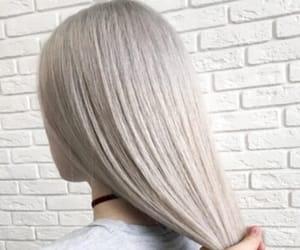 grey, hair, and silver image