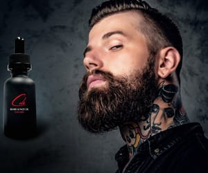 online shopping, skincare, and beard growth oil image