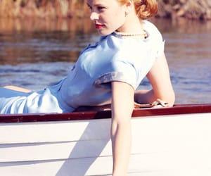 beautiful, boat, and dress image