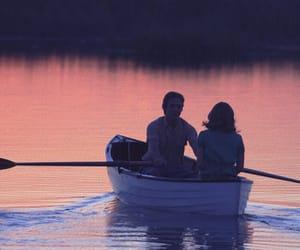boat, lake, and rachel mcadams image
