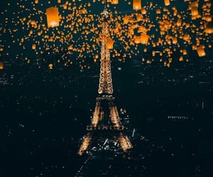 paris and night image
