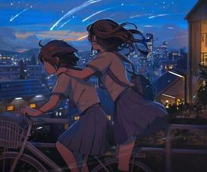 anime, art, and girls image