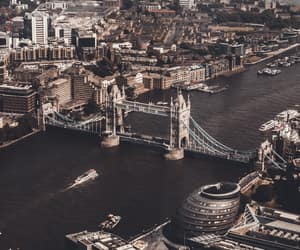 beautiful, landscape, and london image
