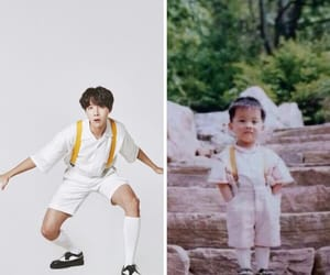baby, white, and bts image