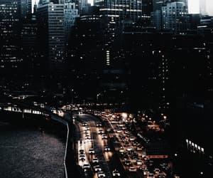 city, night, and ⛼ image