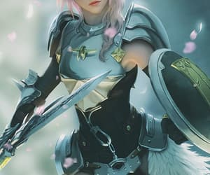 final fantasy, final fantasy xiii, and lightning farron image
