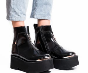 boots, jeffrey campbell, and shoes image