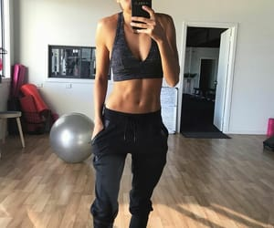 fit, gym, and sport image