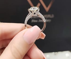 marriage, ring, and wedding image