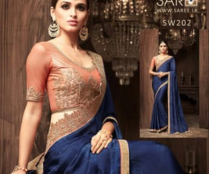 saree, saree blouse, and saree sri lanka image