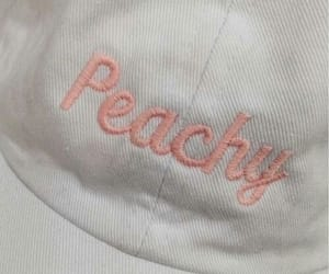 aesthetic, hats, and peach image