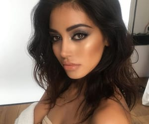 site models, beautiful lady, and makeup hair image