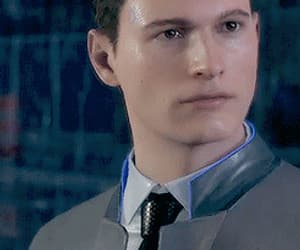 gif, detroit become human, and dbh connor image