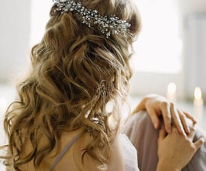 etsy, rhinestonehaircomb, and bridal headpiece image