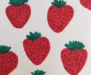 FRUiTS, red, and strawberry image