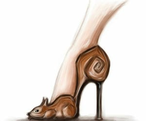 animal, animals, and high heels image