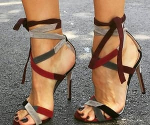 heels, fashion, and sandals image