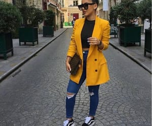 outfits, stylé, and yellow image