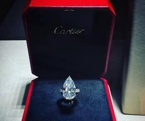 diamond, cartier, and ring image