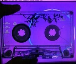 purple, aesthetic, and tumblr image