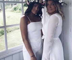 beauty, midsommar, and instagram image