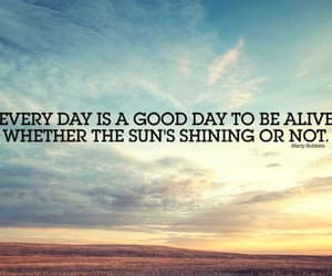 quote and sun image