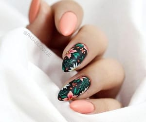 beautiful and nail image